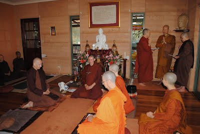 March 1st, 2012 Bhikkhuni Ordination at Dhammasara